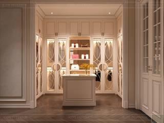 Thiết kế nội thất phong cách Tân Cổ Điển sang trọng CÔNG TY CP THIẾT KẾ NỘI THẤT ICON Dressing roomAccessories & decoration