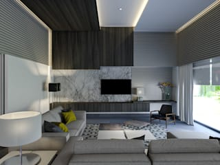 Interiorismo Conceptual estudio Modern living room
