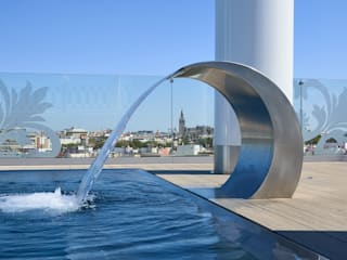Interiorismo Conceptual estudio Modern pool