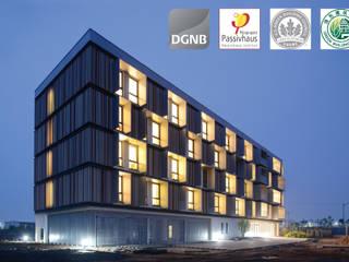 Passive House Bruck Peter Ruge Architekten GmbH Гостиницы в стиле модерн