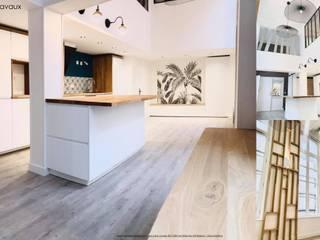 Rénovation et réorganisation d'un Loft Rouen Hyper centre Louise EDOUIN Architecte décoratrice d'intérieur