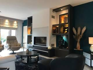 Décoration intérieur pour une maison d'architecte sur le plateau nord de Rouen Louise EDOUIN Architecte décoratrice d'intérieur