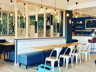 Restaurant en bord de mer sur Veules les Roses Avant /Après Louise EDOUIN Architecte décoratrice d'intérieur