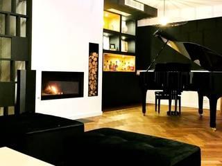 MAISON CONTEMPORAINE ESPRIT LOFT ROUEN MAIRIE avant/après Louise EDOUIN Architecte décoratrice d'intérieur