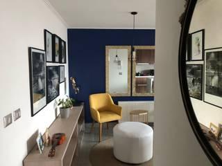 FOTOS REALES - Proyecto Sucre Gabi's Home Livings de estilo moderno Azul