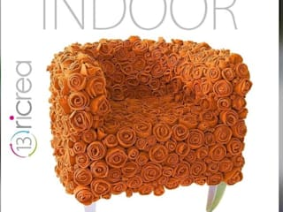 13RiCrea Living room Wood Orange