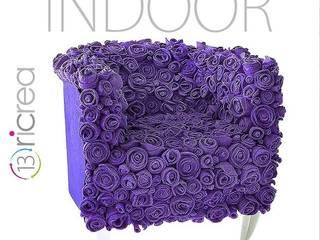 13RiCrea Living room Wood Purple/Violet