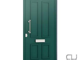 RK Exclusive Doors Front doors Aluminium/Zinc Green