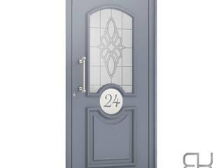 RK Exclusive Doors Front doors Aluminium/Zinc Metallic/Silver