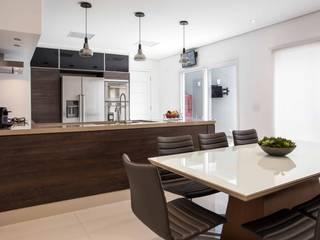 Moinho Palladino Arquitetura Salas de jantar modernas