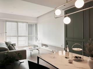 寓子設計 Classic style dining room