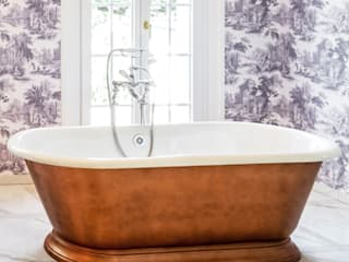 Traditional Bathrooms GmbH BañosBañeras y duchas Metal Marrón