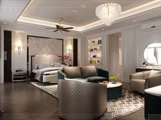 Thiết kế nội thất phong cách Tân Cổ Điển sang trọng CÔNG TY CP THIẾT KẾ NỘI THẤT ICON Living roomAccessories & decoration