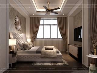 Thiết kế nội thất phong cách Tân Cổ Điển sang trọng CÔNG TY CP THIẾT KẾ NỘI THẤT ICON BedroomAccessories & decoration