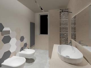 Casa Ez Laboratorio di Progettazione Claudio Criscione Design Bagno moderno