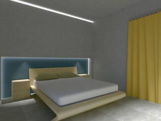 Casa Ez Laboratorio di Progettazione Claudio Criscione Design Camera da letto moderna