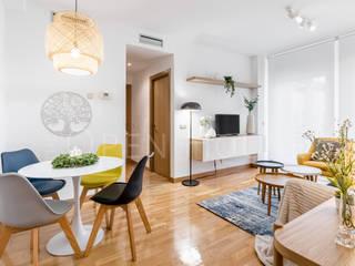 Home Staging para larga duración The Open House Comedores de estilo moderno