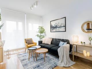 Home Staging para larga duración The Open House Salones de estilo moderno