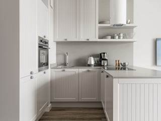Anna Serafin Architektura Wnętrz Cocinas de estilo mediterráneo