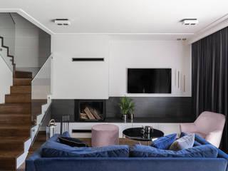 Anna Serafin Architektura Wnętrz Salones de estilo moderno