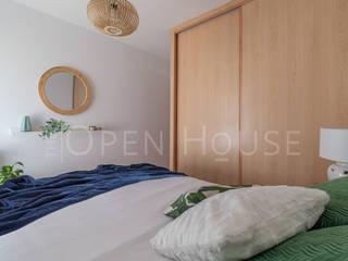 Piloto en Villalbilla The Open House Dormitorios de estilo ecléctico