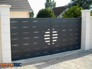 Lamitec SA de CV Garagentore Metall Metallic/Silber