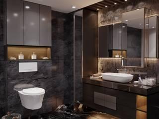Lakkad Works Baños de estilo moderno
