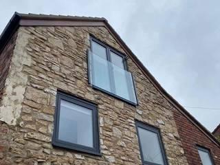 Juliet Balcony in Enfield, London Origin Architectural Balcony Glass Transparent