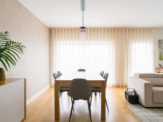 Traço Magenta - Design de Interiores Yemek OdasıAksesuarlar & Dekorasyon Bej