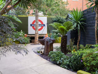 Botanical Garden on the Isle of Dogs Earth Designs Tropical style garden
