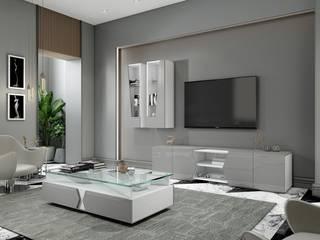 Intense mobiliário e interiores Salas modernas