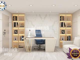 Luxury Antonovich Design Escritórios modernos