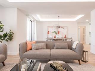 jaione elizalde estilismo inmobiliario - home staging Living room