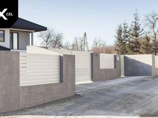 XCEL Fence Jardines frontales Aluminio/Cinc Blanco