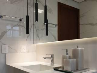 Larissa Minatti Interiores BathroomLighting