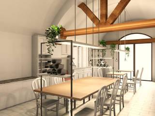 Progetto 3D Attività commerciale Falegnamerie Design