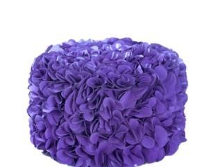 13RiCrea Front yard Wood-Plastic Composite Purple/Violet