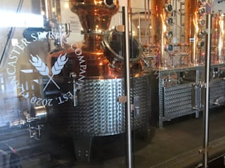 Glass Balustrade for Lancaster Brewery Origin Architectural Modern Home Wine Cellar Glass Transparent