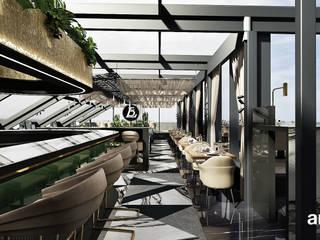 ARTDESIGN architektura wnętrz Gastronomía de estilo moderno