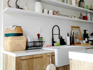 SARAÈ Interior Design CocinaEncimeras Blanco