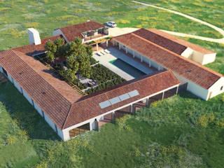 MA.TERIA. HOUSE. HERDADE FAMAIS. ALCÁCER MA.TERIA. ARCHITECTURE SOLUTIONS Casas de campo