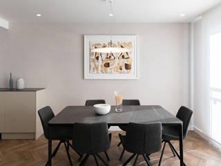 Ideas Interiorismo Exclusivo, SLU Sala da pranzo minimalista