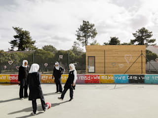 Estúdio AMATAM Rumah prefabrikasi Wood effect