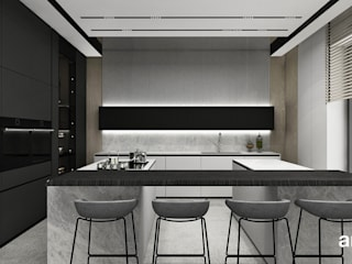 ARTDESIGN architektura wnętrz Cocinas de estilo minimalista