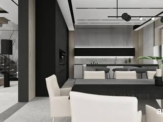 ARTDESIGN architektura wnętrz Comedores de estilo minimalista