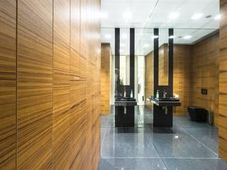 Teak wood wall coverings homify Walls & flooringWall & floor coverings Wood Brown