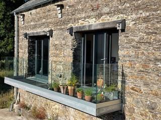 Balustrade Project in Peterborough, Cambridgeshire Origin Architectural Balcony Glass Transparent