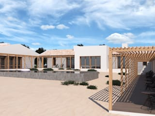 MA.TERIA. HOUSE. HERDADE COUTADA BAIXO. GRANDOLA MA.TERIA. ARCHITECTURE SOLUTIONS Casas de campo