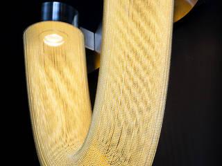 willowlamp リビングルーム照明 金属 アンバー/ゴールド