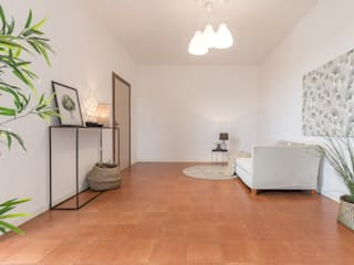 Mirna Casadei Home Staging Corredores, halls e escadas modernos